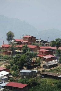 Nepalese village destroyed by 2015 earthquake